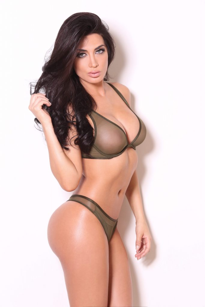 Amazing Glamour Model - brunette