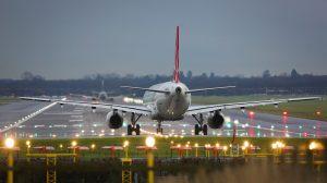Landing On Gatwick airport - London